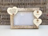 Shabby personalised Chic Photo Frame Special Best Friend Friendship Any Name - 332867133233